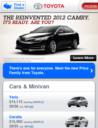 Toyota Mobile Touch